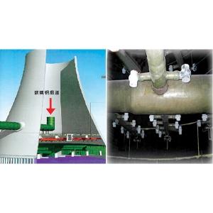 玻璃钢烟道(烟囱)/耐磨脱硫设备